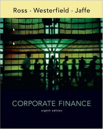 Corporate Finance: WITH S&P Card By Stephen A. Ross