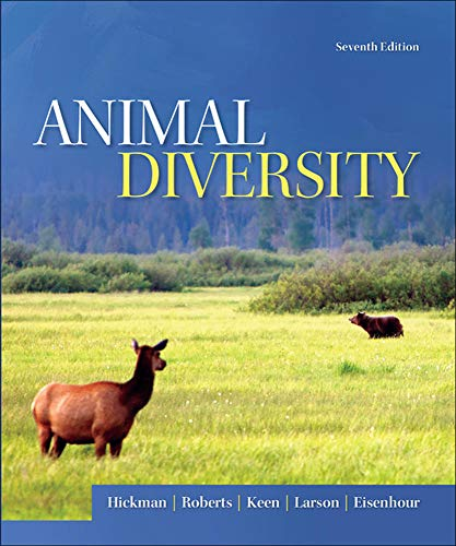 Animal Diversity By Cleveland Hickman