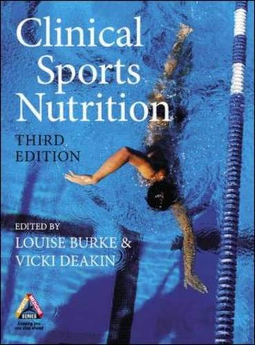 Clinical Sports Nutrition By Vicki Deakin