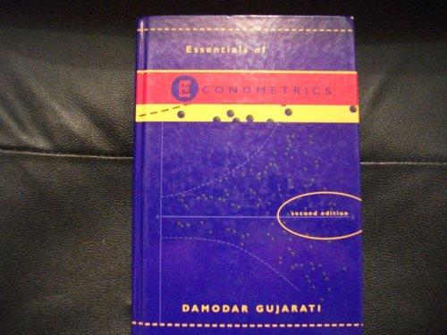 Essentials of Econometrics (with disk) By Damodar Gujarati