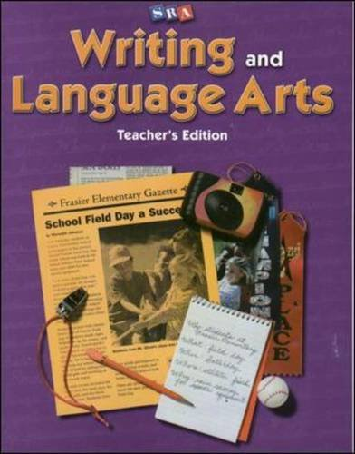 Writing and Language Arts, Teacher's Edition, Grade 4 By James D. Williams