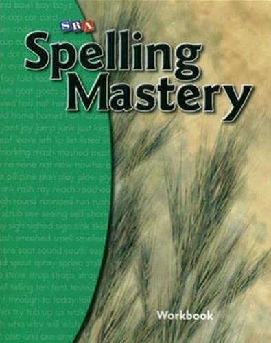 Spelling Mastery Level B, Student Workbook By McGraw Hill