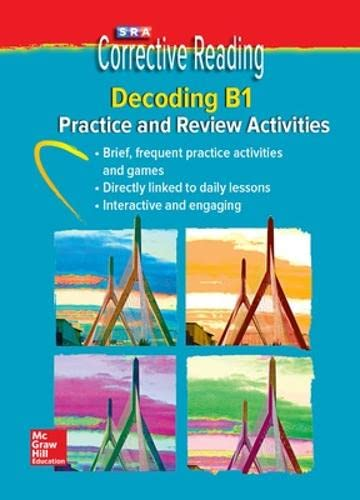 Corrective Reading Decoding Level B1, Student Practice CD Package By McGraw-Hill