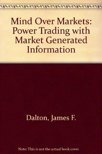 Mind Over Markets By James F. Dalton