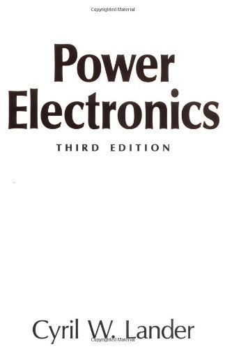 Power Electronics By Cyril W. Lander