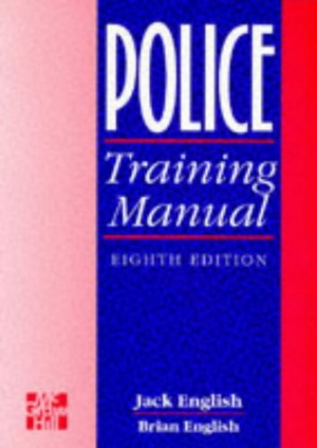 Police Training Manual By Jack English