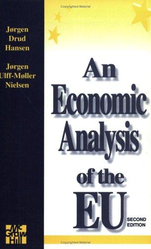 An Economic Analysis Of The E.U By Jorgen Hansen