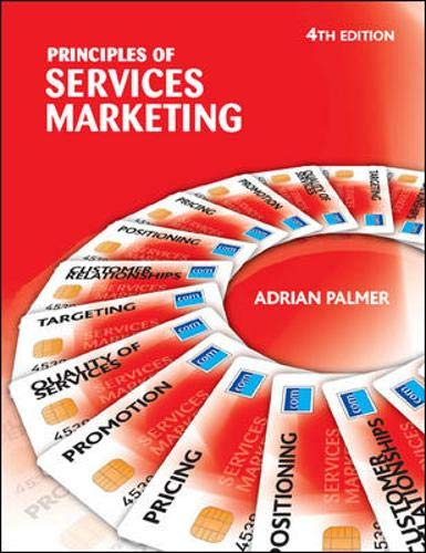 Principles of Services Marketing By Adrian Palmer