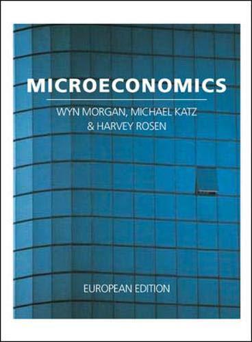 Microeconomics By Wyn Morgan