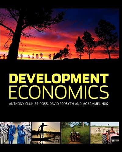 Development Economics By David Forsyth