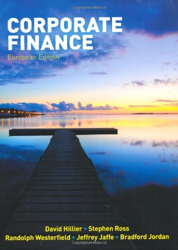 Corporate Finance: with Connect Access Code by David Hillier