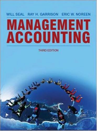 Management Accounting By Will Seal