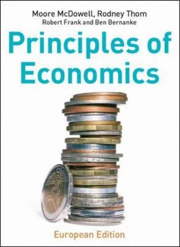Principles of Economics with Redemption card By Moore McDowell