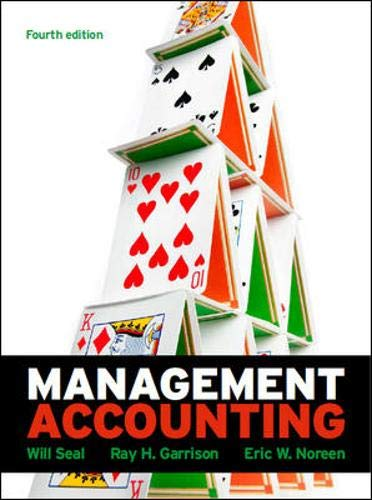 Management Accounting with Connect Plus Card By Will Seal