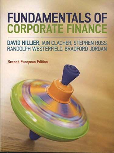 Fundamentals of Corporate Finance By David Hillier