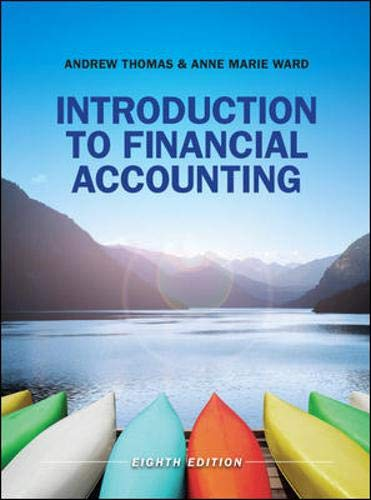 Introduction to Financial Accounting (UK Higher Education Business Accounting) By Andrew Thomas