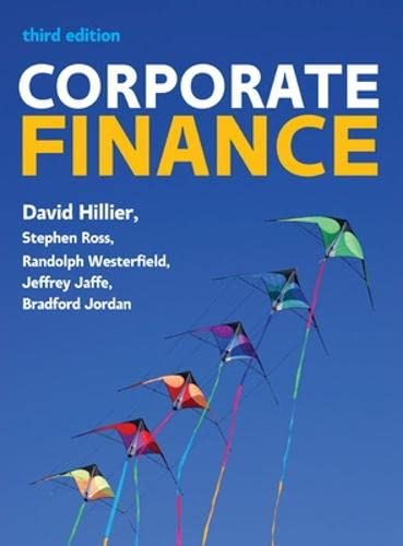 Corporate Finance: European Edition By David Hillier