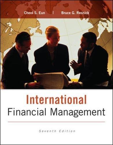International Financial Management By Cheol Eun