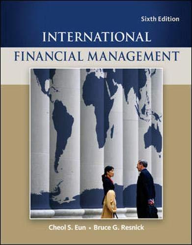 International Financial Management By Cheol S. Eun