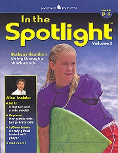 In the Spotlight, Vol 2, Levels D-F By McGraw-Hill Education