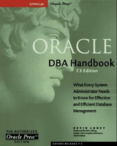 Oracle DBA Handbook By Kevin Loney