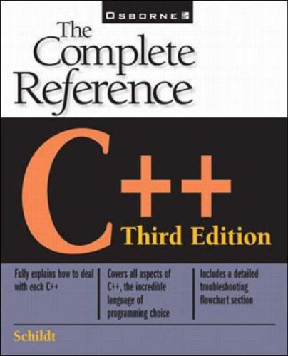 C++: The Complete Reference by Herbert Schildt
