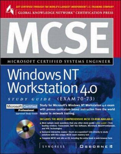 MCSE Windows NT Workstation (Exam 70-73) by Syngress Media, Inc.