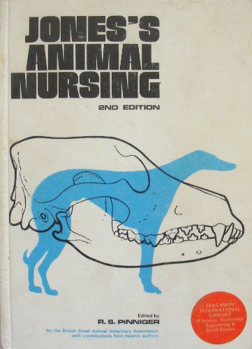 Jones's Animal Nursing by Bruce V. Jones