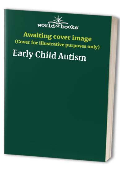 Early Child Autism By Lorna Wing