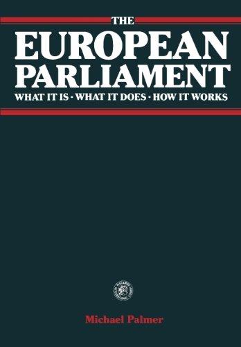 European Parliament By Michael D. Palmer