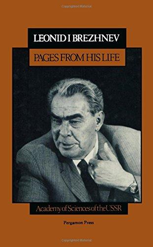Leonid I. Brezhnev By Leonid Brezhnev