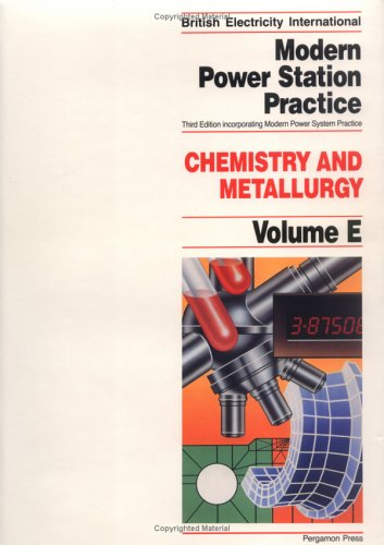 Modern Power Station Practice By J Brown