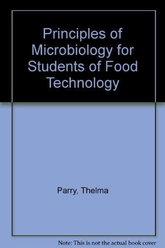 Principles of Microbiology By Rosa K. Pawsey