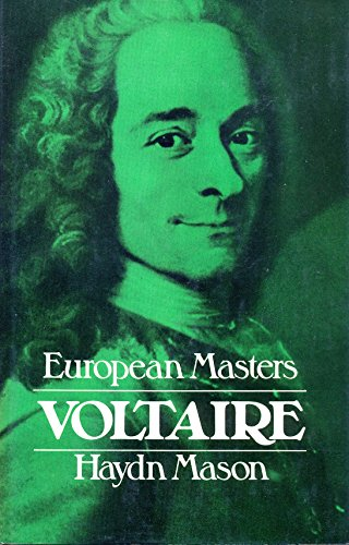 Voltaire (European masters) By Haydn Mason