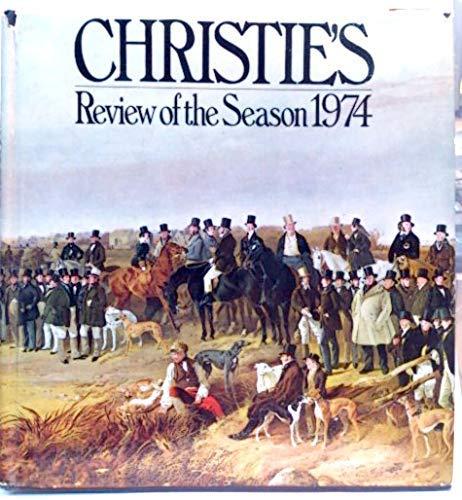 Christie's Review of the Season By Volume editor John Herbert