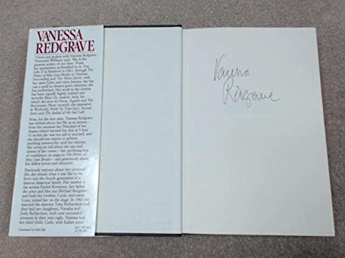Vanessa Redgrave: An Autobiography By Vanessa Redgrave