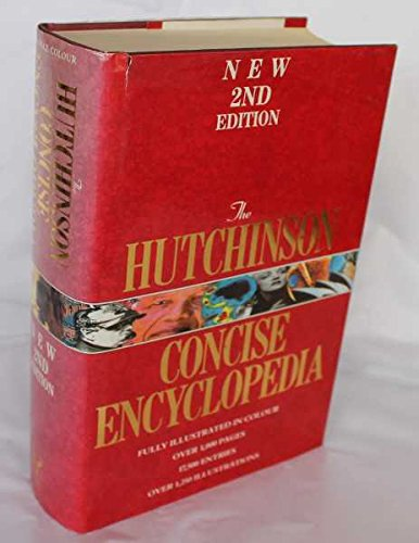 Hutchinson Concise Encyclopedia By Brian Hutchinson (University of Iowa)