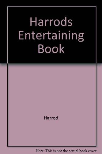 Harrods Entertaining Book by Harrod