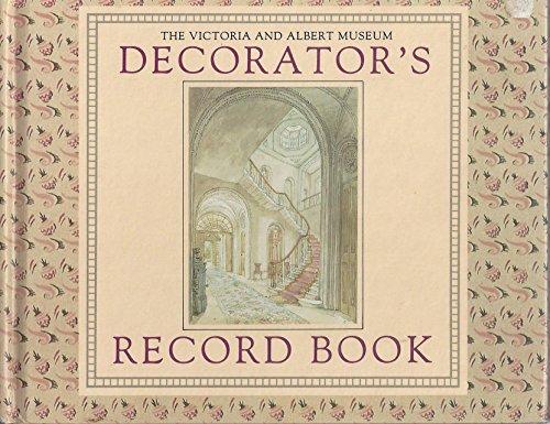 The Victoria & Albert Museum Decorator's Record Book By Pietro Della Valle