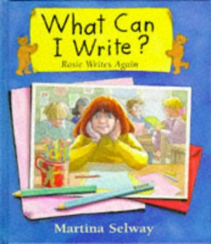 What Can I Write? By Martina Selway
