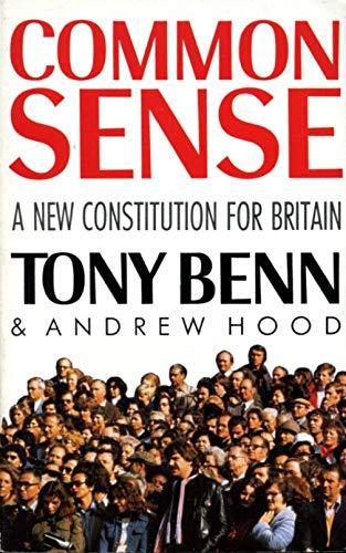 Common Sense By Tony Benn