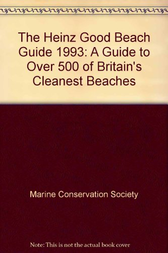 The Heinz Good Beach Guide By Marine Conservation Society