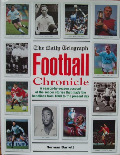 The Daily Telegraph Football Chronicle By Barrett