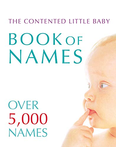 Contented Little Baby Book Of Names By Gillian Delaforce
