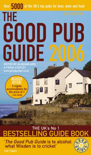 The Good Pub Guide 2006 By Alisdair Aird