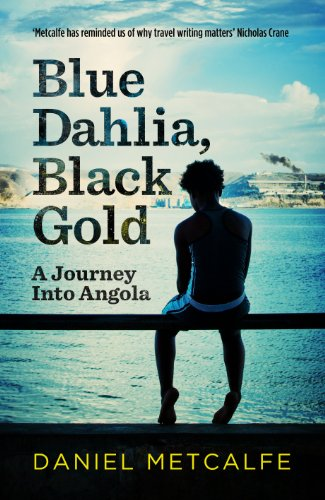 Blue Dahlia, Black Gold By Daniel Metcalfe