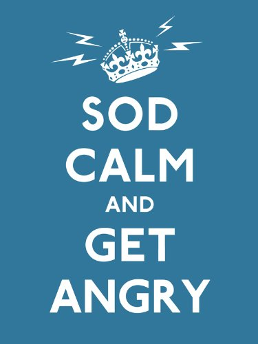 Sod Calm and Get Angry: Resigned Advice for Hard Times by