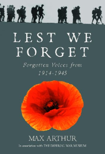 Lest We Forget By Max Arthur