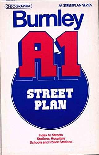 Burnley Street Plan By Geographia