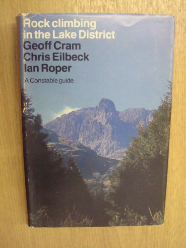 Rock Climbing in the Lake District By A.G. Cram